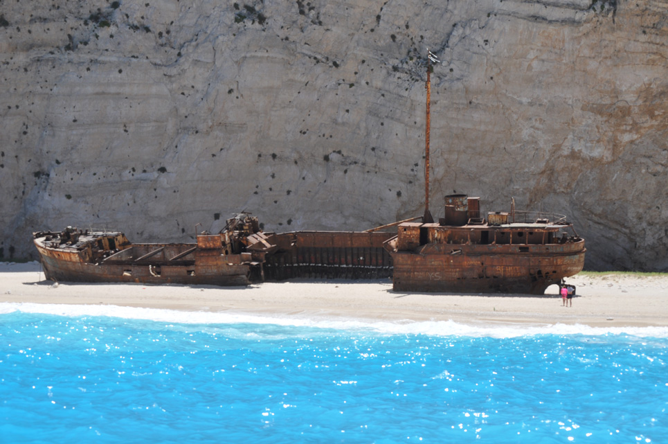 GC5VMB1 Zakynthos Shipwreck 1 Beach Traditional Cache In